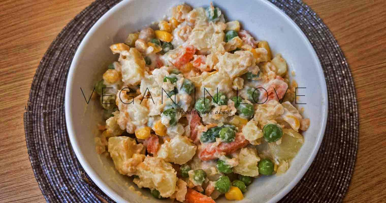Potato salad (Russian Potato Salad)