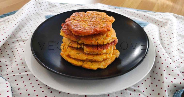 Easy vegan fritters